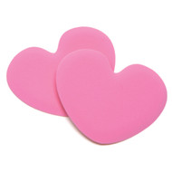 Tip Toes Pink Heart Shoe Pad Cushion Inserts - by Foot Petals