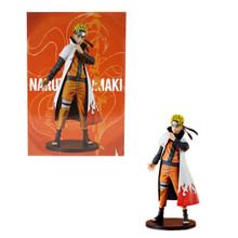 """Naruto Uzumaki 4th Hokage Coat Version - Naruto Shippuden 10"""" Figure"""
