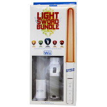 Wii Light Sword Bundle - Red (Intec) G5726