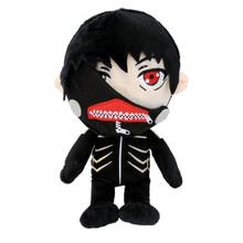 """Normal Kaneki Ken Black Hair - Tokyo Ghoul 12"""" Plush"""