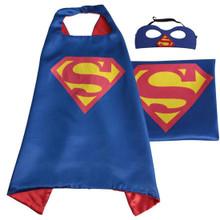 Superman - Blue DC Universe Costume Cape and Mask Set