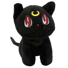 "Black Luna - Sailor Moon 6"" Plush"
