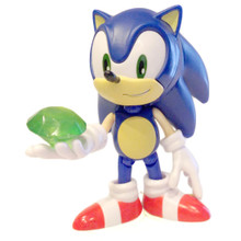 "Sonic with a Chaos Emerald - Sonic the Hedgehog 3.5"" Figure"