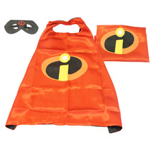 The Incredibles - Pixar Costume Cape and Mask Set