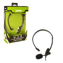 Xbox One Wired Headset - Black (KMD) KMD-XB1-5334