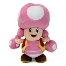 """Toadette - Super Mario Bros 8"""" Plush (San-Ei) 1450"""