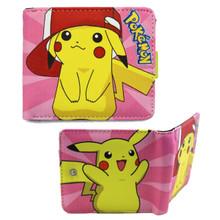 "Pikachu wearing Ash's Hat - Pokemon 4x5"" Bi-fold Wallet"
