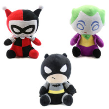 Batman, Harely Quinn, and The Joker - DC Comics Plush Bundle