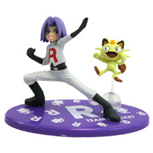 "James and Meowth - Pokemon 4"" Action Figure"