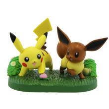"""Pikachu and Eevee - Pokemon 4"""" Action Figure"""