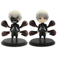 """Kaneki Ken with and without Mask - Tokyo Ghoul 4"""" Figure Set"""