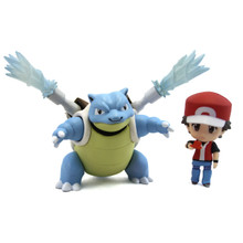 "Red with Blastoise - Pokemon 3"" Droid Action Figure"