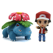 "Red with Venusaur - Pokemon 3"" Droid Action Figure"