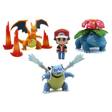 "Red: Champion Ver. - Pokemon 3"" Droid Action Figure"