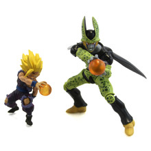 """Son Gohan and Cell - DragonBall Z 6"""" Action Art Figures"""