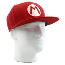 Mario Logo - Super Mario Bros. Snapback Cap Hat