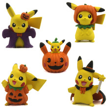 Halloween Pikachus - Pokemon 5 Figure Set