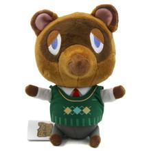 "Tom Nook - Animal Crossing 7"" Plush (San-Ei) 1301"