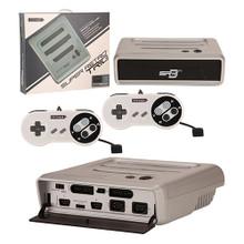 SNES Genesis NES Super Retro Trio SR3 Console Silver Black (Retro-Bit)