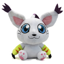 "Sitting Gatomon - Digimon 11"" Plush"
