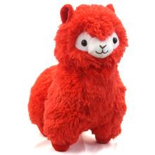 """Red - Alpaca 13"""" Plush"""