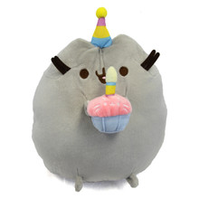 "Birthday Party - Pusheen 10"" Plush"
