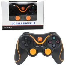 PS3 Bluetooth Controller Pad - Orange (Hexir)