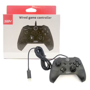 Buy Switch Wired Pro Controller - Black (Hexir) - Hexir.com