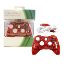 Xbox 360 Wired LED Controller Pad - Red (Hexir)