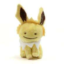 "Ditto Jolteon - Pokemon 3"" Keychain Plush"