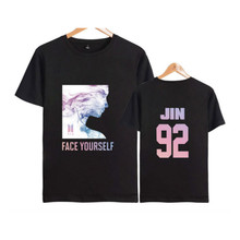 Jin - Large BTS Face Yourself Shirt