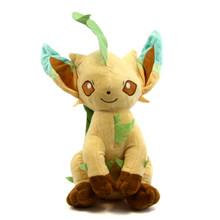 "Sitting Leafeon - Pokemon 12"" Plush"