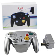 Gamecube Wireless OG Wave Controller Pad - Silver Platinum (Hexir)