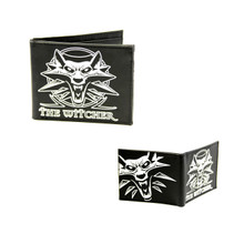 "Wolf Medallion - The Witcher 4x5"" Bi-fold Wallet"