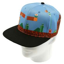 First Level - Super Mario Bros. Snapback Cap Hat