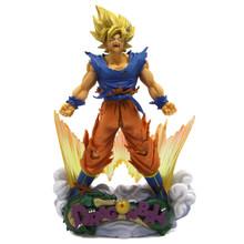 "Super Saiyan Goku - DragonBall Z 8"" Diorama Figure"