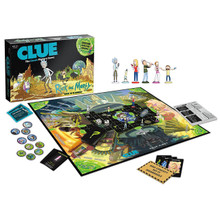Rick and Morty Clue Board Game (USAopoly) CL085-434