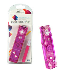 Wii Rock Candy Remote Controller - Pink (PDP) PL8560PK