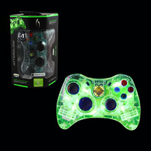 Xbox 360 Wired Afterglow AX.1 Controller Pad - Green (PDP) PL3702
