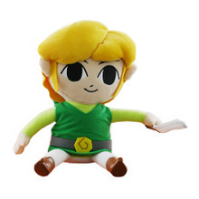 "Link - The Legend of Zelda: Phantom Hourglass 12"" Plush (San-Ei) 1284"