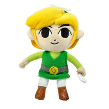 "Link - The Legend of Zelda: Phantom Hourglass 8"" Plush (San-Ei) 1283"