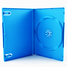 [100 pcs.] Wii U DVD Retail Game Case Media Package - Blue