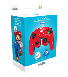 Wii U Fight Pad Wired Classic Controller - Mario (PDP) 085-006-MA