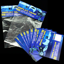 Replay Gear Header Cards & Retail Poly Bag Bundle 100 ct.