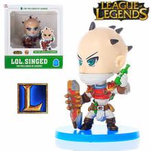 "Singed - League of Legends 3"" Action Figure"