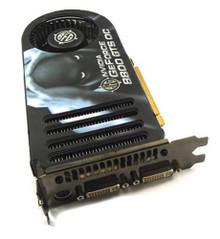 VGA Graphics Card GeForce 8800GTS 640 MB PCI Express (BFG)