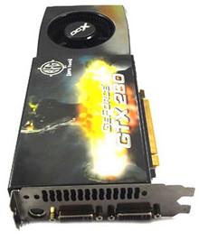 VGA Graphics Card GeForce GTX280 1 GB PCI Express (BFG) GTX260 1 GB