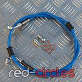VENHILL BLUE FRONT BRAKE HOSE 1150mm