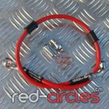 VENHILL RED REAR BRAKE HOSE 550mm