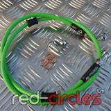 VENHILL GREEN FRONT BRAKE HOSE 950mm